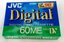 JVC Digital Video Cassette 60ME Mini DV 90 Minutes DVM60 M-DV60ME