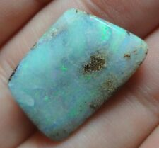 15.6 Carat Natural, Polished Solid Boulder Opal From Quilpie QLD Lapidary Gift