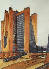 Futurist Architecture I ANTONIO SANT'ELIA Vintage Architecture Futurism Poster