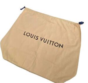 "Authentic Louis Vuitton XL Drawstring Dust Bag Beige ~25х21"" Brand new Handbag"