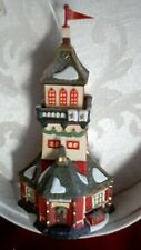 """Heritage Village Collection, Christmas Ornament, """"Santa Lookout Tower"""","""