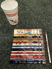 1988 Empire Berol Nfl pencils near compl. Cardinals Oilers St. Louis La Raiders