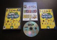 JEU PC CD-ROM : Les Sims 2 JOUR DE FETE ! Kit (Add on EA COMPLET envoi suivi)