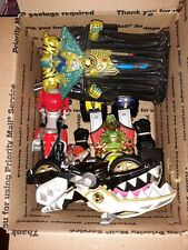 Mixed Lot Power Rangers Figures Motorcycle & Toys Bandai Thunder Megazord Villan