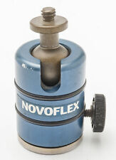 NOVOFLEX Stativkopf Kugelkopf Kugelneiger mit Auflageteller BALL
