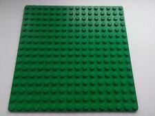 LEGO GREEN BASE PLATE 16x16 PIN