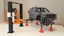 rc scale car hoist stand jack 1:10 rock crawler scx10 tamiya rc4wd mst cfx crx
