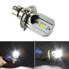 DC 6-80V COB H4 2 SMD LED Motorcycle Motorbike Headlight Fog Lamp Bulb Light DOH