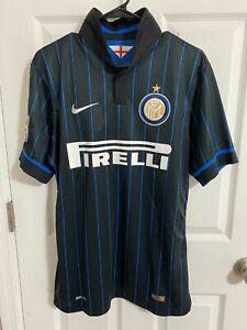 2014 Inter Milan Match Worn Shirt Rodrigo Palacio Player Issue Jersey Argentina