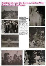 Gutiérrez Korda Originalphotos Fidel Raul Castro Che Guevara Kuba Revolution
