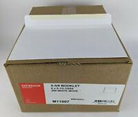 "Open Side Booklet Envelope - 9-1/2"" X 6"" - 28# White Wove - OSSS - Box of 500"