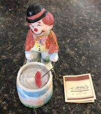 Hobo Luvkins Porcelin Clown 1984 With Tag