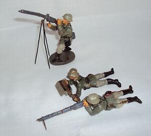 LINEOL / ELASTOLIN Soldaten Konvolut sehr Alt für Sammler -ToP-LeSeN-