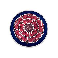 Enamel Tudor Rose Scarf Pin / Brooch (2677)