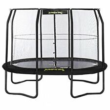 10ft x 7ft Jumpking OvalPOD Oval Trampoline with Enclosure (JPO710G17)