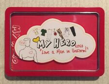 LIFE CANVAS - My Hero Man In Uniform TIN SET Personalise 20 Gift Note Cards NEW