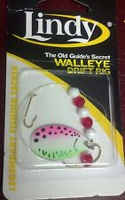 "LINDY, WALLEYE DRIFT RIG, TROUT, 36"" HAND TIED, GS110, WORMS/MINNOWS"