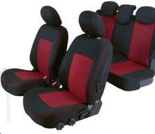 Coprisedili Anteriori Neri MERIVA Versione con Fori per i poggiatesta e bracciolo Laterale 2003-2010 compatibili con sedili con airbag