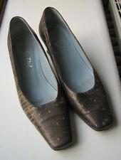 Van Dal Ladies Heels - Dark Brown, Light Brown & Gold Snake Skin Pattern UK4.5