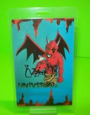 Ozzfest BackStage Pass Original Universal 1998 Nos Heavy Metal Ozzy Red Devil