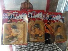BRUCE LEE vintage : Set de 3 figurines neuves
