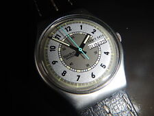 Rare swatch Automatic Prototype aluminio 1989 Black Hawk Mix Day muy raras!