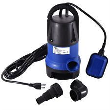 Water Pump | 1/2 HP 2000GPH Clean Clear Dirty Pool Pond Flood Drain New