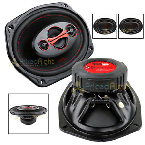 "DS18 6x9"" 180 Watts Max Power 4 Way Car Door Speaker Coaxial GEN-X6.9 Set of 2"