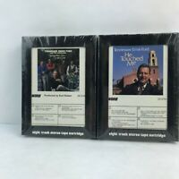 Tennessee Ernie Ford And The Jordanaires 2 8-Track Cartridges Tapes New