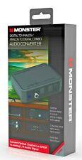 MONSTER® Digital to Analog or Analog to Digital Combo Audio Converter