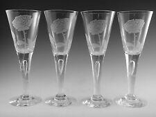 More details for dartington crystal - sharon design - kim thrower engraved - 1977