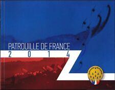 Plaquette Patrouille de France 2014 signée