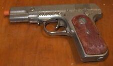 Vintage Hubley Army 45 Cast Iron Cap Gun Older Colt Logo Nice Condition