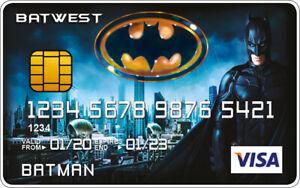 Batman Novelty Plastic Credit Card