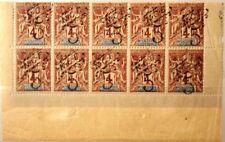 NEW CALEDONIA NEUKALEDONIEN 1899 52 60 10x NCE ovp new corrency MNH
