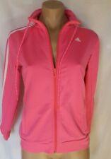 ADIDAS  jacket Size S 8/10 AU Ladies fluro bright pink white 3 stripe NEW 💜