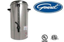GENERAL COMMERCIAL COFFEE PERCOLATOR 60 CUPS 11 QT MODEL GCP60