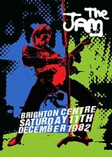 THE JAM - CONCERT POSTER BRIGHTON SATURDAY 11th DECEMBER 1982 LAST EVER GIG (A3)