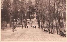 Postcard Toboggan Slide MSC Amherst MA