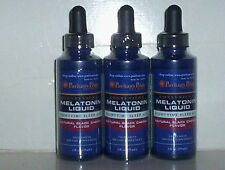 MELATONIN LIQUID NIGHT SLEEP AID SUBLINGUAL DROPS BLACK CHERRY 6 FL OZ 3 BOTTLE
