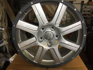 "Genuine Set Of Audi Alloys 19""Q7, Vw Touareg"