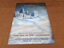 2004 The Day After Tomorrow Original Movie House Full Sheet Holographic Poster