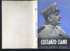 Costanzo Ciano, Dino Grandi discorso, Cappelli 1940 fascismo R