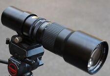 400 mm F/6.3 T2 mount lens adapter CANON NIKON PENTAX SONY PANASONIC M43 Micro 4/3 MFT