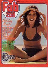 Fab 208 Magazine 26 June 1976     Elton John     Tatum O'Neal     Davida Smart