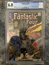 Fantastic Four #80 CGC 6.0 OW/W 1st Tomazooma Marvel Silver Age Comic 1968 MCU