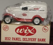 ERTL WIX Filters Limited Edition 1932 Panel Delivery 1:34 Die-Cast Bank