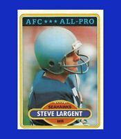 1980 Topps #450 Steve Largent NRMINT or BETTER - $1 COMBO SHIPPING