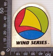 Vintage Wind Series Wet Suit Wind Surfing Sail Boarding Souvenir Promo Sticker
