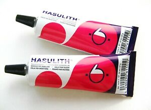 Hasulith Kleber 5x30ml Tuben Schmuckkleber Bastelkleber Craft Glue SERAJOSY